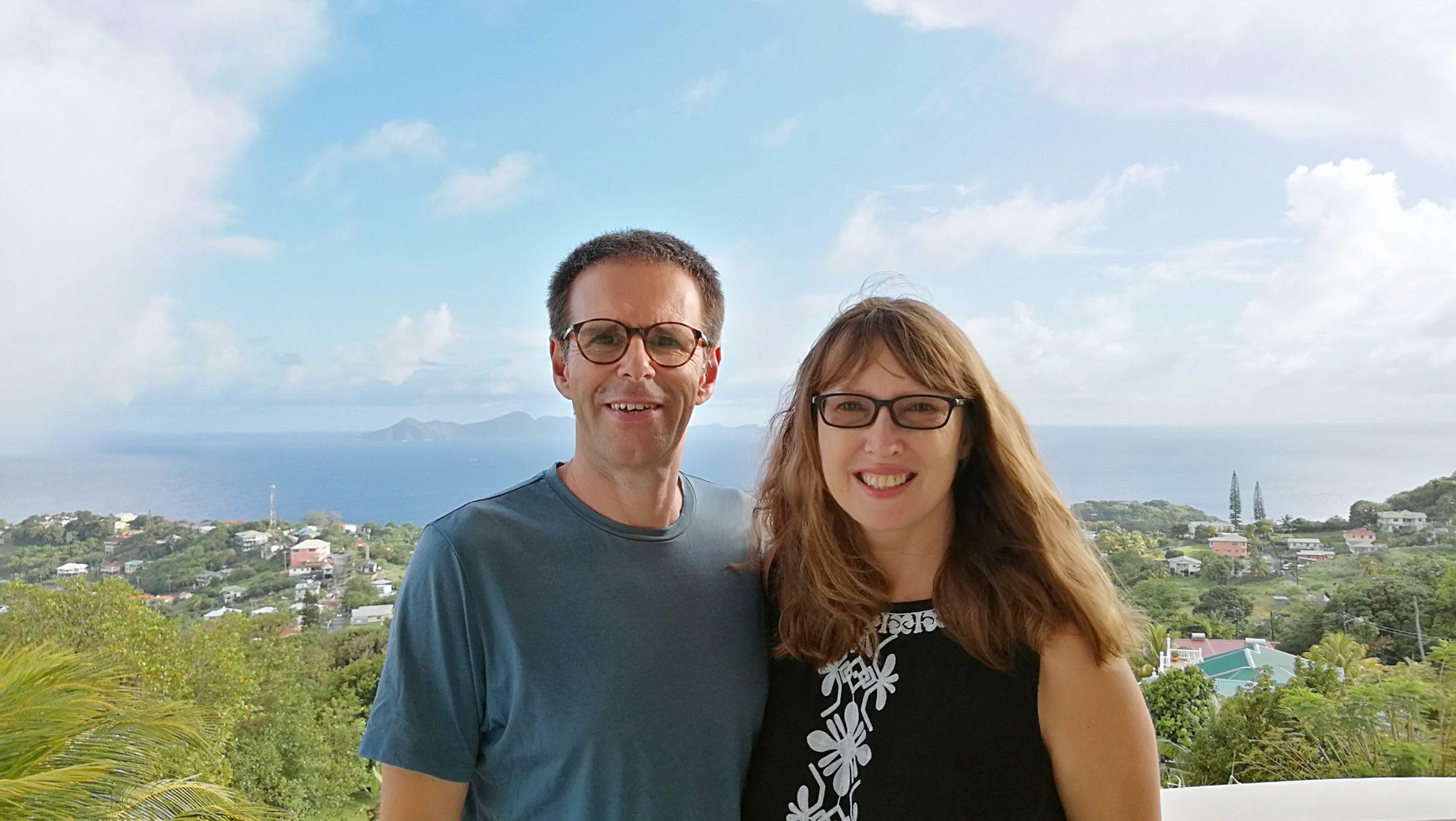 Vanessa Anderson and Ian Usher